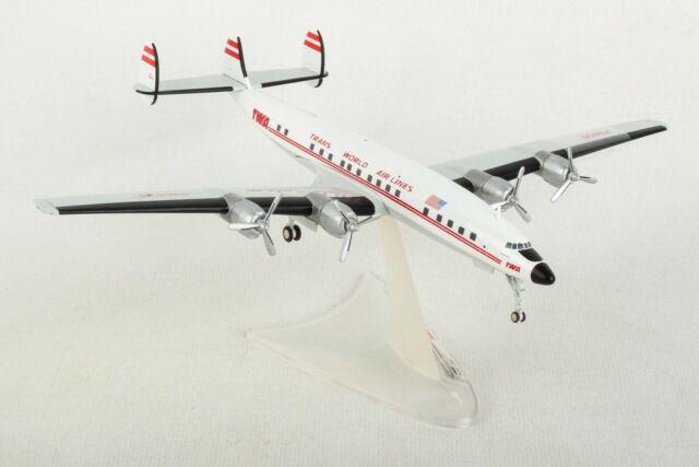 Herpa Wings 1:200  Lockheed L-1649A  TWA Trans World Airlines  N7321C  558372