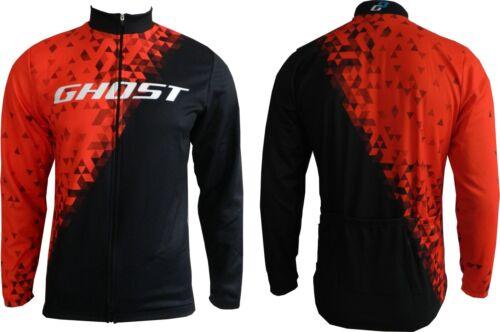 GHOST Winter Jacket Winterjacke red//black Modell NEU