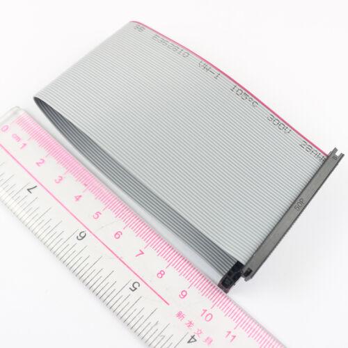 2Pcs 2 mm pitch 2x25 PIN 50 broches 50 Fils Isolation Déplacement Connecteur Plat Câble Ruban Longueur 20 cm