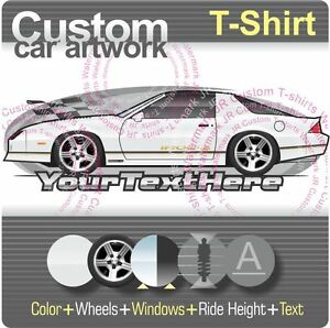 4b1c00ad Custom T-shirt for 1988 89 1990 Chevrolet Chevy camaro Z/28 Z28 Iroc ...