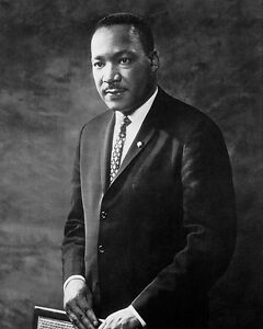 Portrait Of Dr Martin Luther King Jr 8x10 Silver Halide Photo