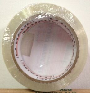"TAPE Clear Packing Shipping Moving 50 yards x 1.88"" wide Great Tape Ships Fast"