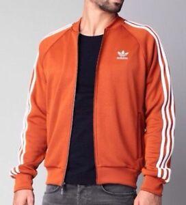 622ecc9d10f9 NEW Adidas Originals Men Superstar Track Top Fox-Red L Large nwt ...