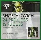 Shostakovich 24 Preludes & Fugues V1 5030820045962 CD