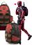 Marvel-Deadpool-Cosplay-Backpack-School-Bags-Travel-Bag-Bookbag-For-Unisex thumbnail 1