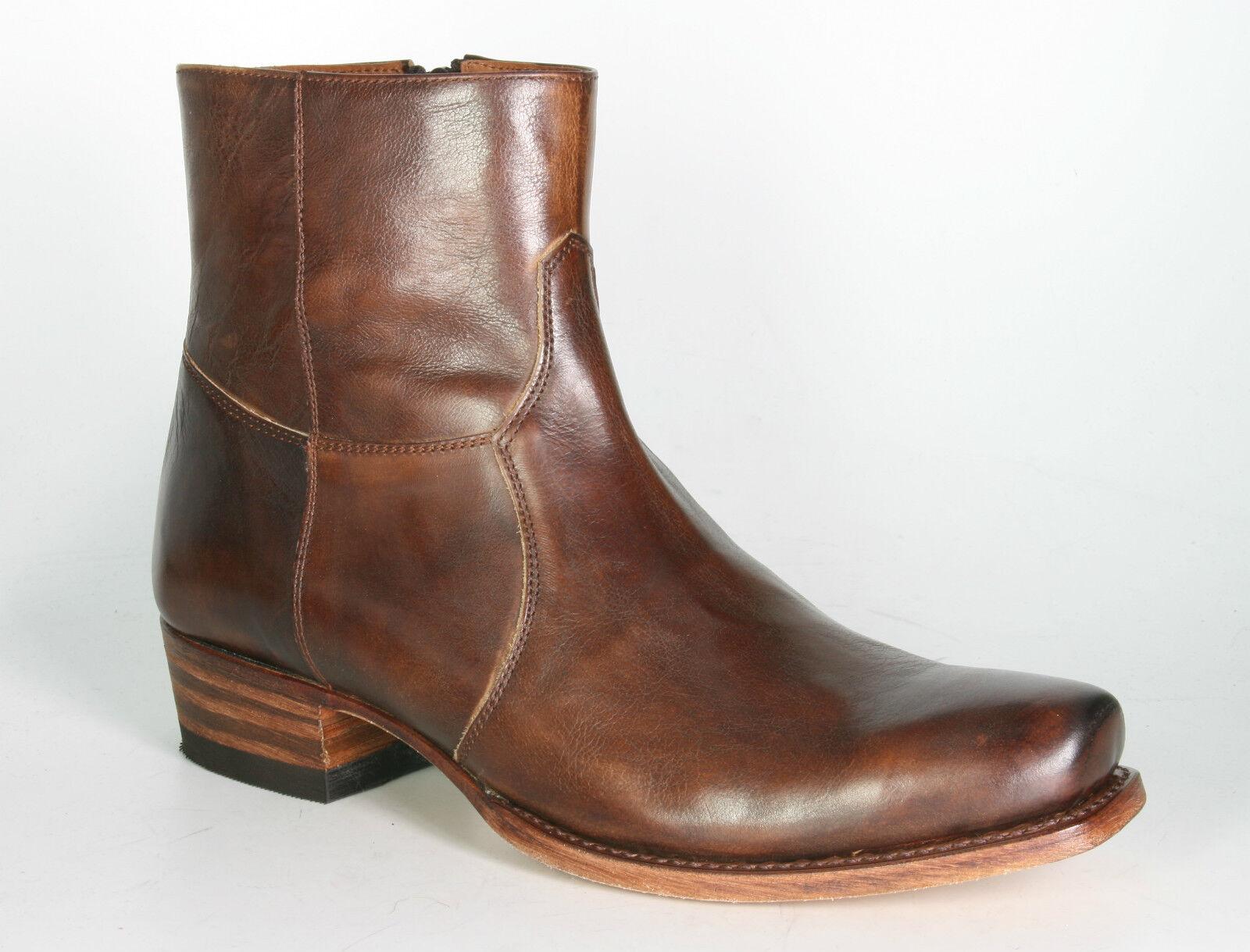 5200 Sendra Stiefelette INSA Deep Nat. Lavado Marron Rahmengenähte Schuhe