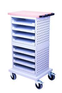 Flex-Box-Schrank-mobil-Art-Nr-04-50-37-2A-NEU-Stabile-Stahlblech-Qualitaet