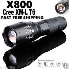 BRIGHT X800 Tactical Flashlight Cree LED Military Lumens Alonefire ShadowHawk
