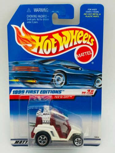 Mattel Hot Wheels 1999 First Editions Teed Off 1:64 Scale Die Cast Vehicles