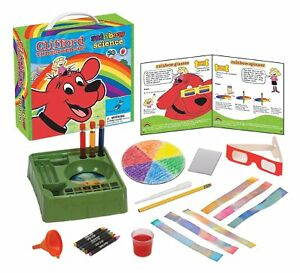NEW-Young-Scientist-Club-Clifford-The-Big-Red-Dog-Rainbow-Science-Kit-Ages-3