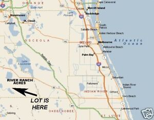 River Ranch Florida Map.River Ranch Acres Florida Vacant Recreational Parcel Florida Bids