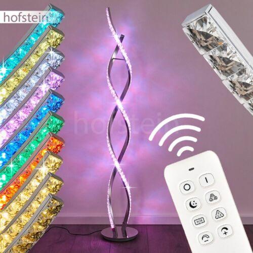 Steh Boden Stand Lampen RGB LED Wohn Schlaf Zimmer Raum Leuchten Fernbedienung