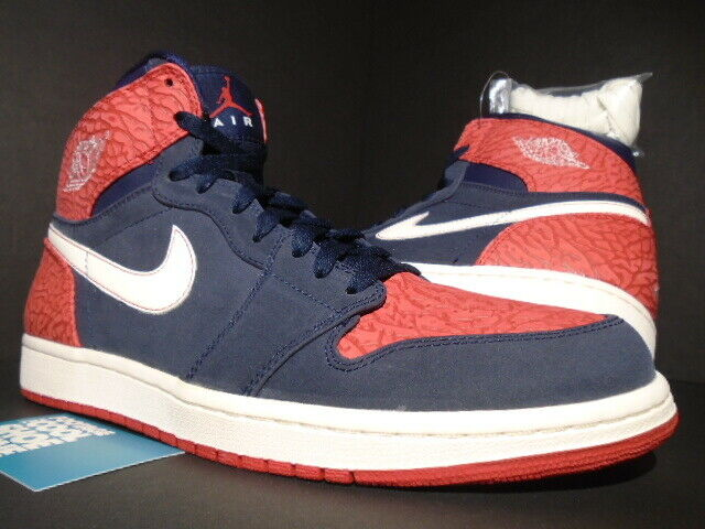 NIKE AIR JORDAN I RETRO 1 HIGH OG ELECTION DAY USA blueE RED CEMENT 332550-401 12