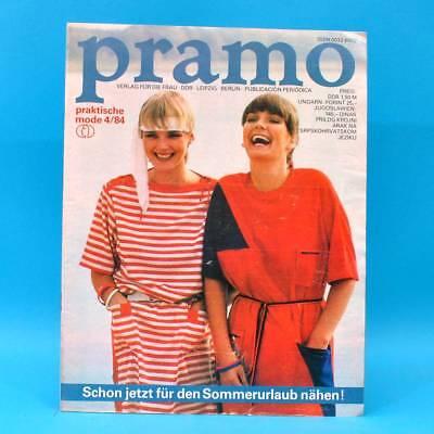 Ddr Pramo 4/1984 Praktische Mode Schnittmuster N Pullis Tasche Blusen Jacke Rock SchnäPpchenverkauf Zum Jahresende