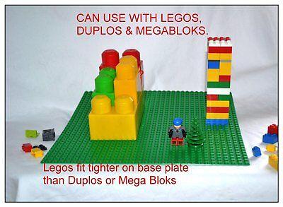 LOT OF 10  NEW GREEN LEGO BOARD  LEGOS