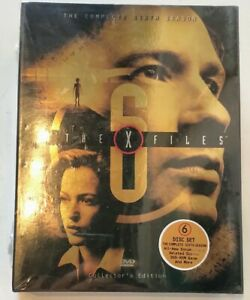 The-X-Files-The-Complete-Sixth-Season-DVD-6-Disc-Set-Collector-039-s-Edition-NEW