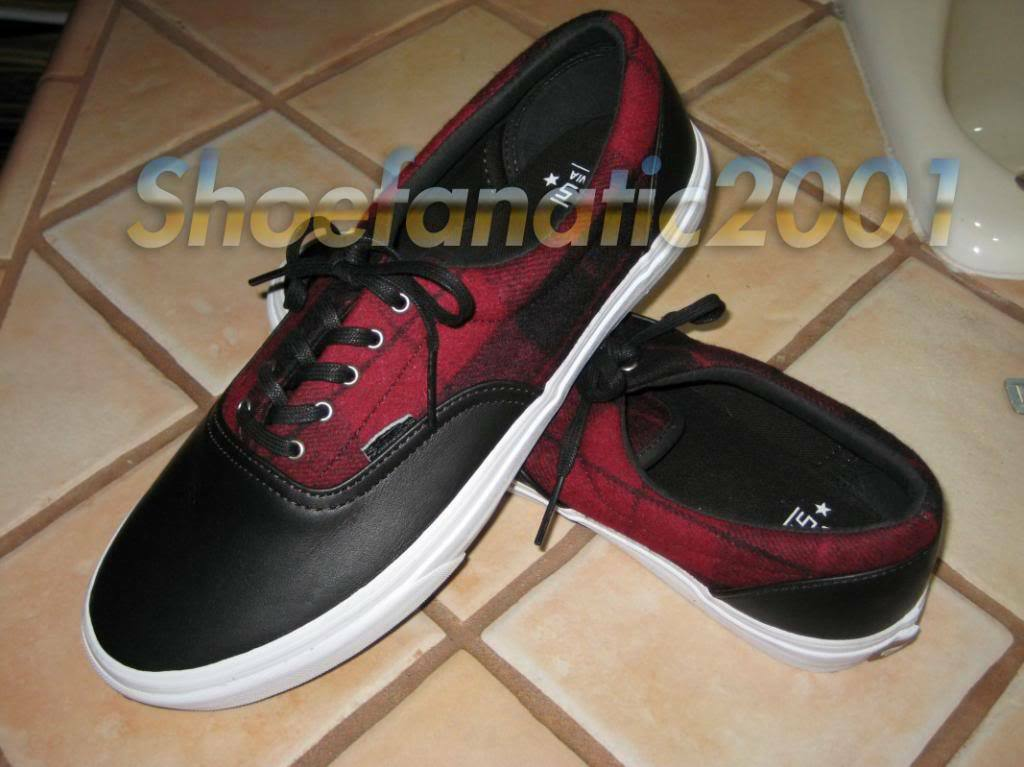 Vans Vault Era rot Plaid Wool Lumberjack 8 Syndicate Taka Blends