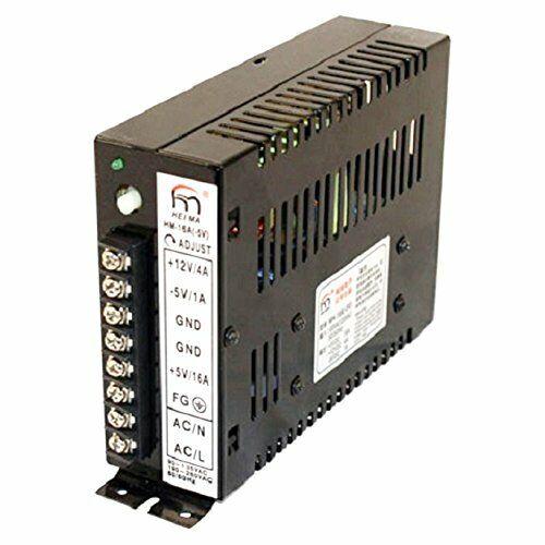 5v New Arcade Switching Power Supply 110//220V 5v Great for Video Game 12v and