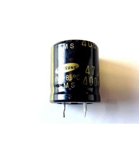 SAMSUNG CAPACITOR 47uF 400v 85°C COMPONANT M
