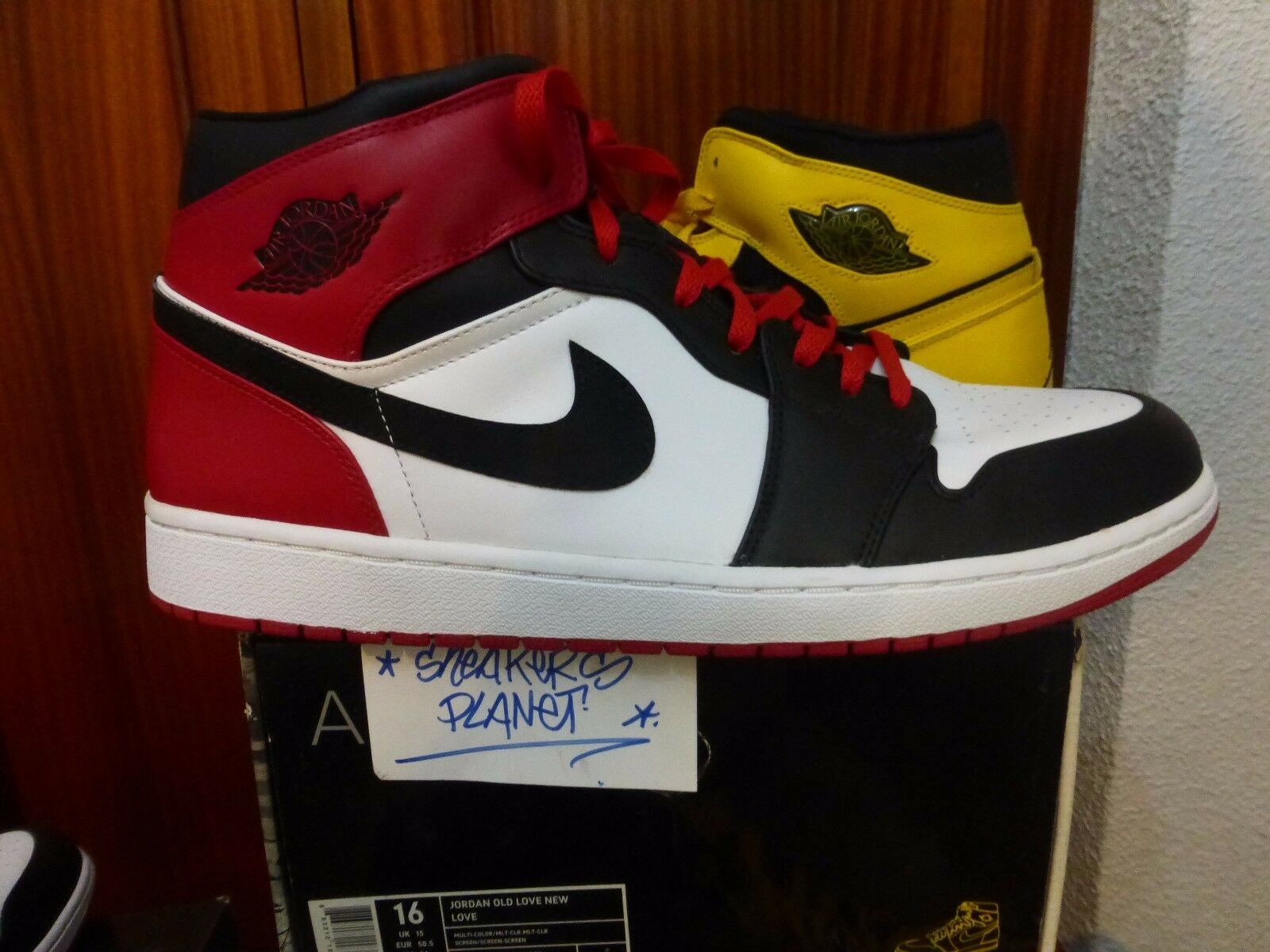 NIKE AIR JORDAN 1 OLD LOVE NEW LOVE US 16 NEW DS 15 14 BLACK TOE 1 2 3  CHICAGO Great discount