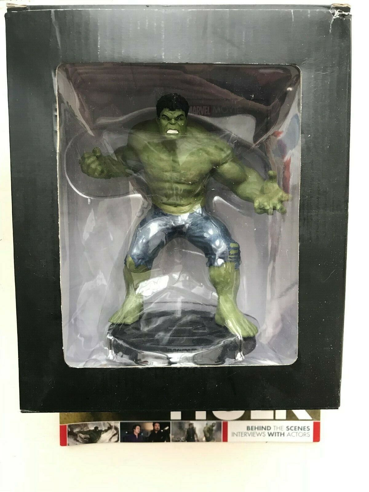 MARVEL MOVIE COLLECTION EDIZIONE specialeeE 1 HULK EAGLEMOSS STATUETTA cifra  MAG
