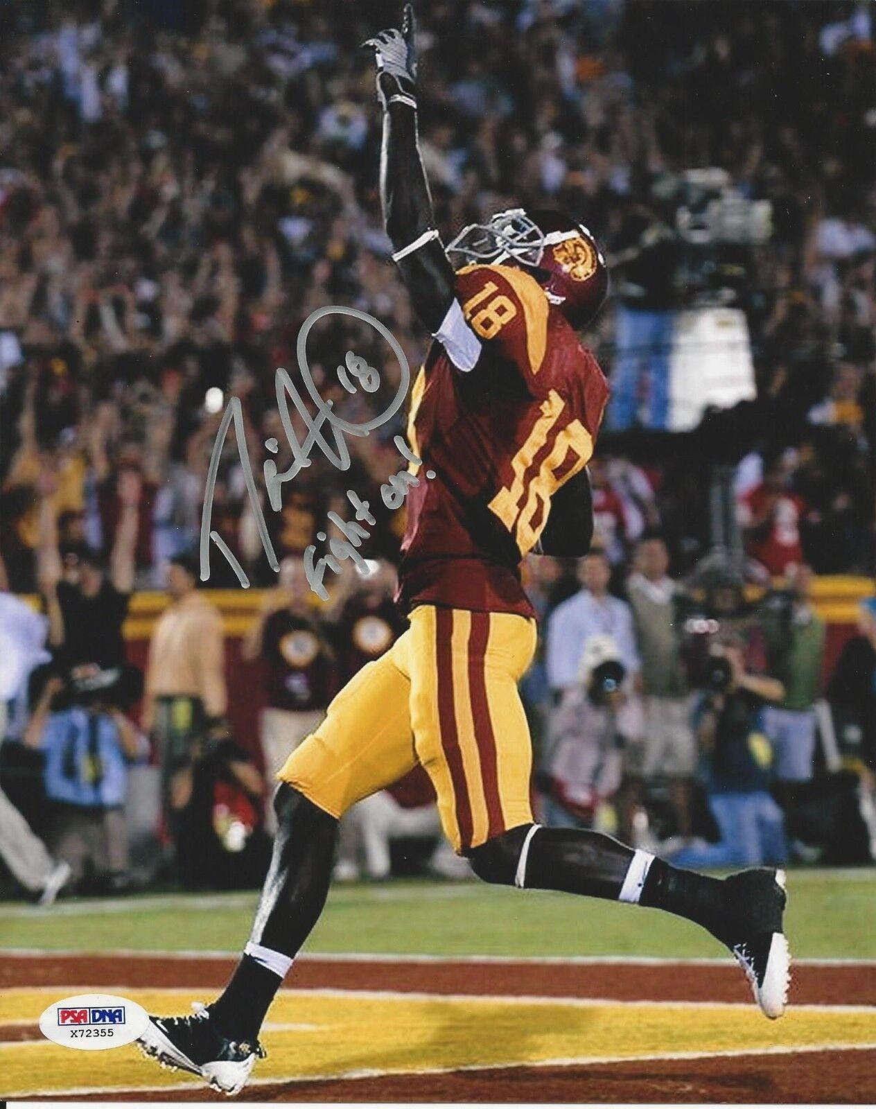 Damien Williams USC Trojans signed 8x10 photo PSA/DNA #X72355