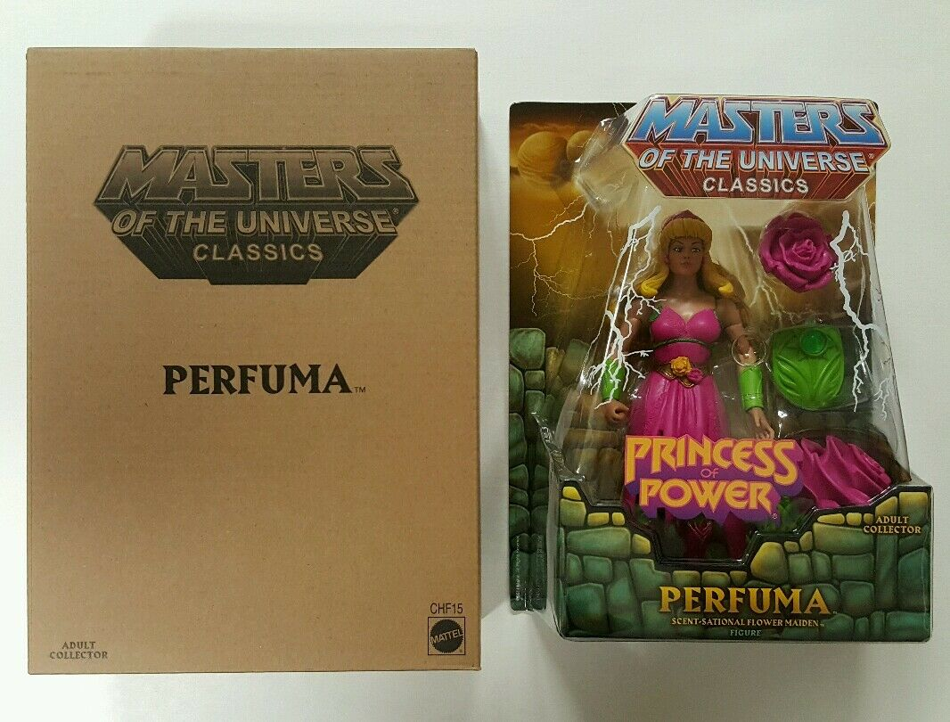 Motu classics Perfuma Masters of the Universe MIB PoP She-ra