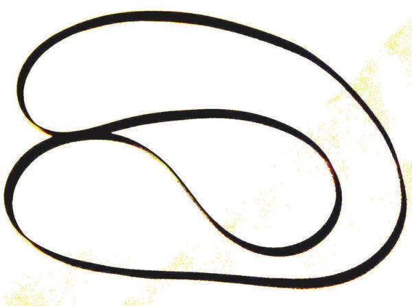Heb Een Onderzoekende Geest *new Replacement Belt* For Electro Brand Turntable Model 9222 Duurzaam In Gebruik