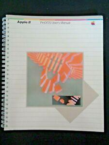 Vintage-1983-Apple-II-ProDOS-User-039-s-Manual-Computer-Technology-Spiral-Binding