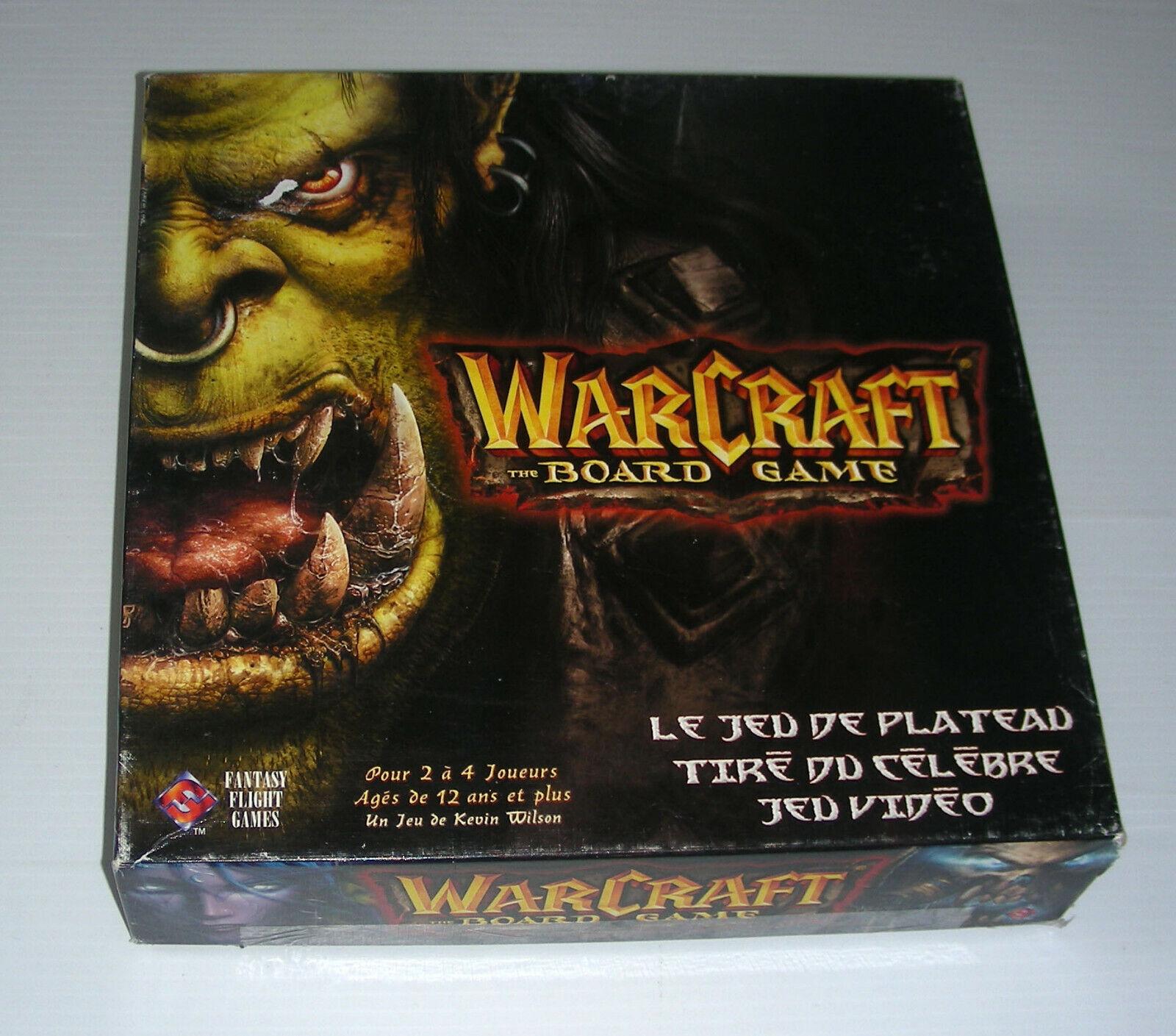 Warcraft Jeu de meseta Société juego de mesa francés Français vuelo de fantasía
