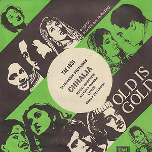MUSKESH-amp-LATA-MANGESHKAR-Chhalia-BOLLYWOOD-VINYL-EP-7-034-REISSUE