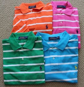 Polo Ralph Lauren Polo Shirt S M FREE NWT Options Men's S/S