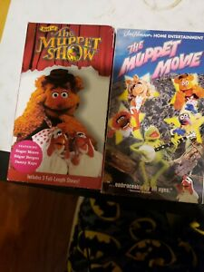 The-Muppets-2-Vhs-Movie-Bundle-The-Muppet-Movie-And-Best-Of-The-Muppet-Show