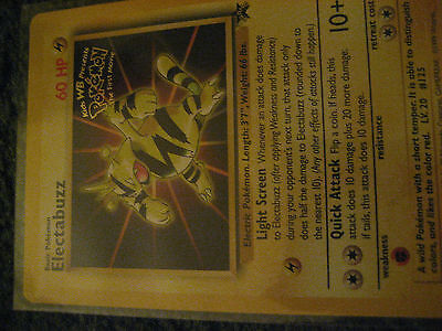 PROMO POKEMON N°  2 ELECTABUZZ Kids WB
