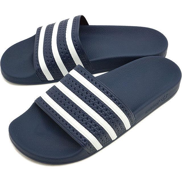 Adidas adilette Azul Blanco Talla 8 288022 eBay