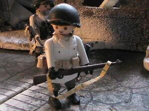 PLAYMOBIL-CUSTOM-US-SOLDADO-99-DIVISION-INFANTERIA-ARDENES-1944-REF-0178-BIS