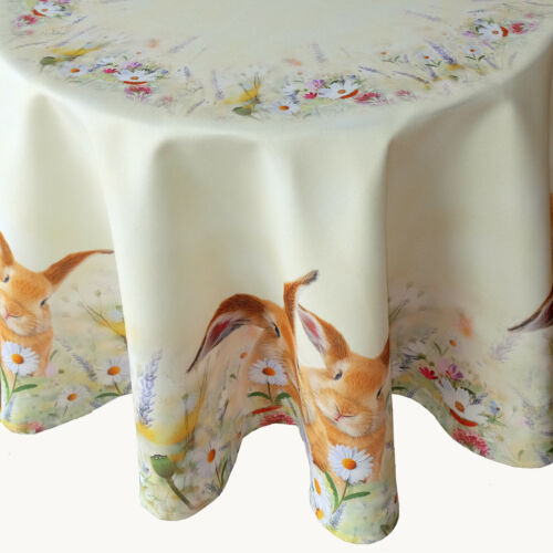 Tischset Tischläufer Mitteldecke Tischdecke Hasen Ostern verschiedenen Größen