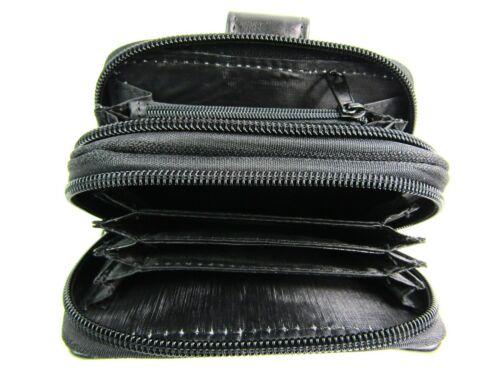 Femmes Qualité Luxe Souple Patchwork Cuir Sac à main carte de crédit titulaire de Lorenz
