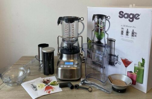 Sage SJB815BSS the 3X Bluicer™ Juicer, Stainless Steel