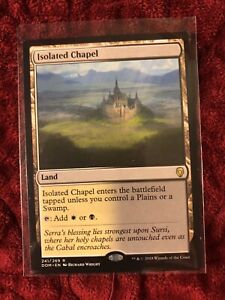 MTG magic cards 1x x1 Light Play English Isolated Chapel Innistrad