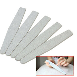 5-Buffer-Lima-100-180-per-Nail-Art-Ricostruzione-Unghie-Mano-Piedi-Kit-Set-wer