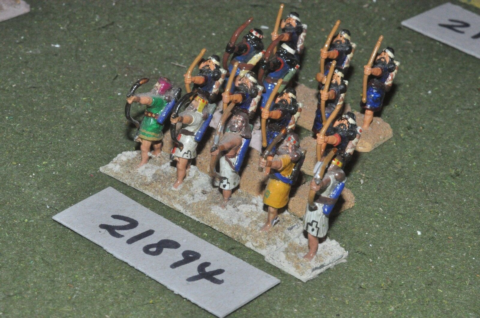 25mm biblical   assyrian - archers 15 figures infantry - inf (21894)