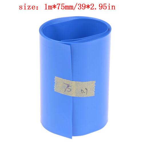 PVC Shrinkable Film Tape Sleeve 18650 Li#ion Battery Heat Shrink Tube Wrap Skin