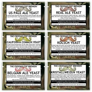 Home-Brew-Beer-Yeast-Pale-Ale-Real-Ale-Belgian-Lager-Wheat-Saison-Multi-Buy10g