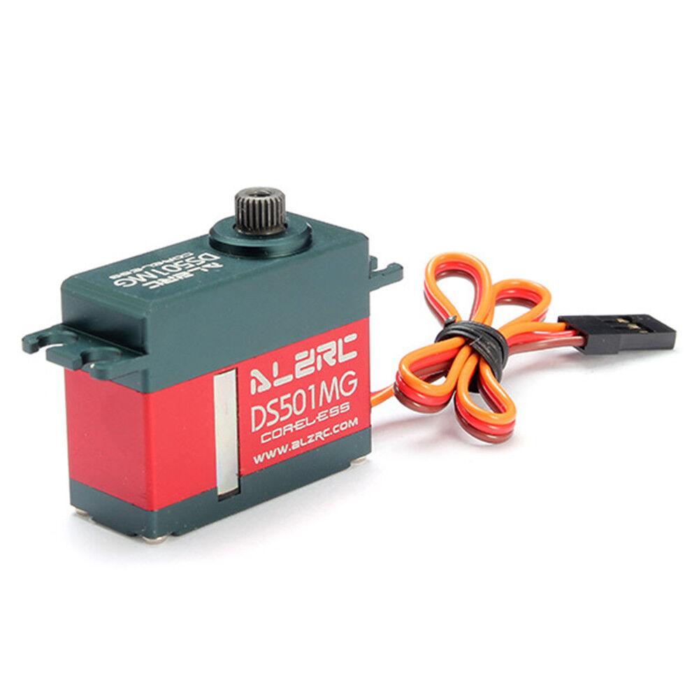 Alzrc DS501MG Mediano Metal bloqueado Digital Servo del timón para alzrc 450 380 X360 50