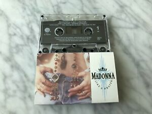 Madonna-Like-A-Prayer-Cassette-Tape-1989-Sire-US-PRESS-VERY-RARE-9-25844-4