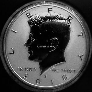 Details about 2018 S San Francisco Silver Reverse KENNEDY HALF DOLLAR  Limited Mintage SOLD OUT