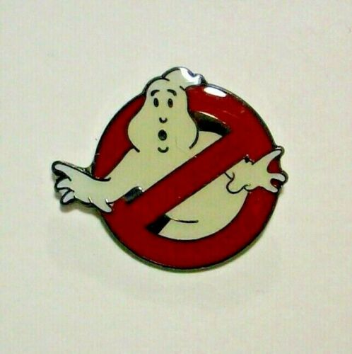 New Ghostbusters Motion Picture Logo Enamel Pin
