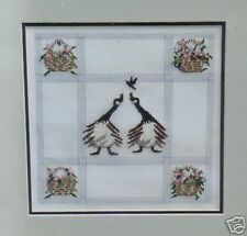 Friendship Geese Cross Stitch Chart - Amish Style