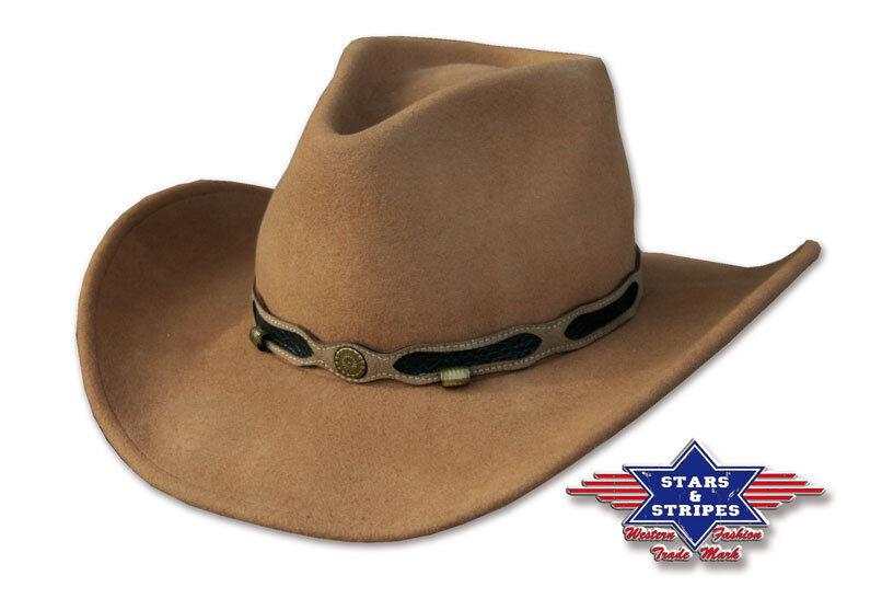 Cowboyhut Cowboy Country Western Hut Westernhut  Clint  Gr. S-L    Großartig